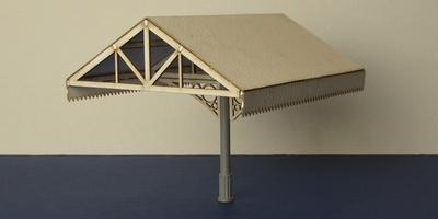 B 70-09M O gauge canopy - middle section