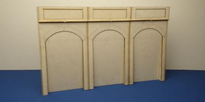 B 70-17 T-pack O gauge retaining wall unit triple pack